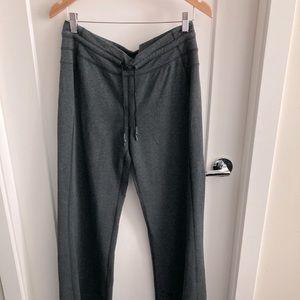 LULULEMON Long Leg Wide Leg Knit w/ Pockets Sz L